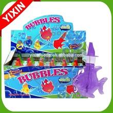 Animal shape soaps bubble