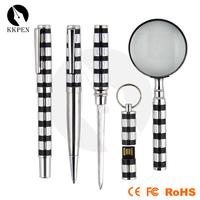 Shibell derma pen promotional metal roller ball pen rocket pen