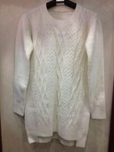 Pure White Woman sweater Fashion 2014 chinese clothing manufacturers fashion young girls coats
