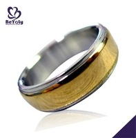 High quality 316L stainless steel jewelry,novelty 1 gram gold ring