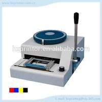 HD-70C Plastic Card Embossing Machine