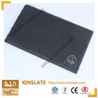 Kinslate certificated LFGB rectangular food safe slate dinnerware