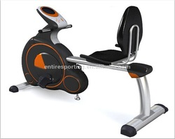 Hangzhou fitness equipment manufacturer model HG-6022E comfortable ergometer recumbent exercise bikes for home gym
