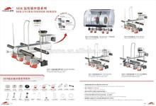 "lycra feeder ,yarn feeder ,spare parts of Circular Knitting Machine (40""24g120feeder ) textile"