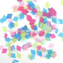 NEW Tissue Paper Confetti Diamond Shaped Tissue Paper Confetti
