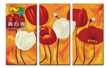 flower painting home decoration gustav klimt kiss painting