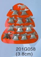 Fashional Style Cheap christmas trees Pendant flashing bell sets