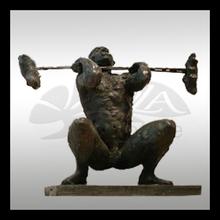 high quality bronze sports statue figure