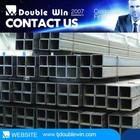 20*40*1.0mm Pre galvanized rectangular steel tube