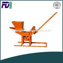 small construction equipment QMR2-40 clay brick making machine price in india