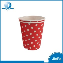 Red Color Disposable Wedding Cups