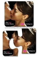 wedding decoration fridge magnet puzzle