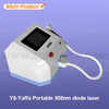 Newest and Hottest hair removal 808 ce approved 808 + laser salon spa equipment