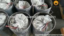 factory price high aluminumium content atomized aluminum powder for al plaste hot sell