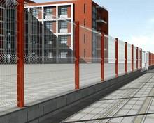 galvanized welded steel wire fence panel