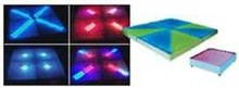 professional 720pcs rgb DMX dancing floor wedding party Slim/Portable Patent led dance floor