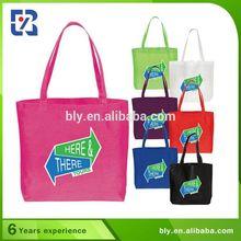 Fashion Design Purple Non-Woven Shopping Bag