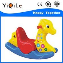 Adorable plastic rocking horse for kids!
