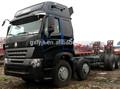 8x4 howo camiones de carga las dimensiones
