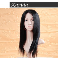 6a grade brazilian straight hair weave,100% unprocessed virgin hair wigs for men