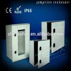 ABS plastic Digital Panel Meter Enclosure matched terminal block