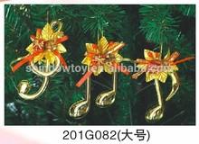 Fashional Style Cheap christmas trees Pendant flashing animals Musical Instruments sets