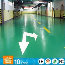 Heavy Traffic Resistance concrete floor epoxy coating