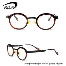 Wholesale Fashion Acetate Round Reading Glasses