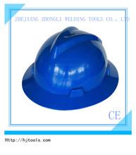 full brim safety helmet