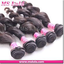 "22"" loose curl brazilian/malaysian/Indian virgin hair"