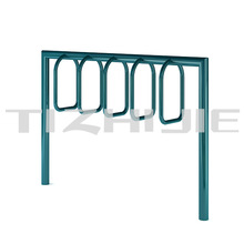 Urban street furniture rack bike carrier standing metal bike display racks