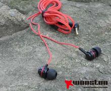 Metal earphone's Housing,CNC Engraving ,Triangle Shape Metal earphone Electronics