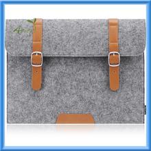 Felt 14 Inch Laptop / Notebook Computer Sleeve Case Bag Cover, Grey