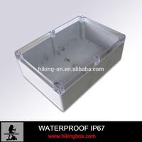 popular selling transparent waterproof enclosure for electron