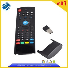 2.4g mini fly air mouse wireless remote control with smart USB interface