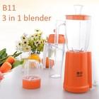 B11 200W fruit blender and mixer dry mil juicer 3 in 1 500ml capacity food processor