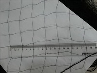 nylon bird netting on sale , mist nets 110d/2ply x28mm x 9 m x 17.6m with 10 pockets/rede para captura de passaros