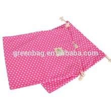 Eco polyester drawstring bag , Traditional Embroidered Drawstring Bag