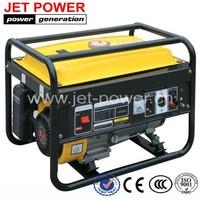 2.5kva 2.5kw 2500 watt generator powered by petrol engine