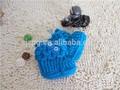 Mano de ganchillo bebé botines, hilados de algodón de bebé tejer zapatos