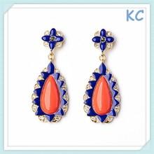 Yiwu Tear Drop Earrings Printting Earrings girls earrings