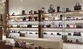 moda di fascia alta e compensato mensole visualizzazione scarpe delle donne muro per negozio di scarpe