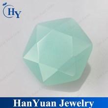 Wuzhou Fancy Cut Cubic Zirconia Hexagon Cut China Bead