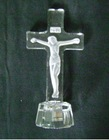 crystal cross figurine for gift MH-14006