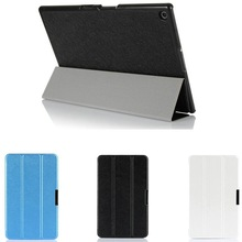 Three Folding Protective Leather Case for Sony Xperia Z2 Tablet