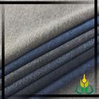 soft suit fabric overcoat/dust coat/jacket tweed brushed fabric