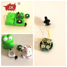 New design voice recordable for toy, motion sensor light toy's sound module