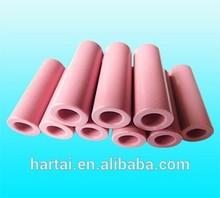 High temperature resistant Zirconia Ceramic Tubes for coil winding , alumina ceramic guides
