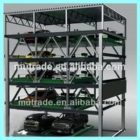 Multi-level Vertical Car Parking Solutions parking brake system