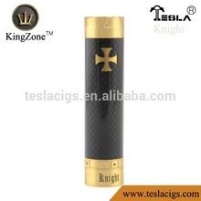 kingzone in ottone cromato materiale in fibra di carbonio Black Knight mod vendita calda di rame cavaliere mod